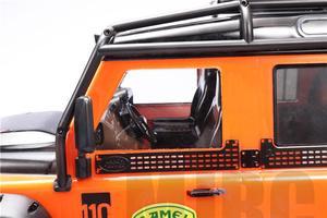 Image 5 - Simulation Transparent Interior Trim For Trx4 Defender TRAXXAS TRX 4 Trx4 82056 4 Cockpit Seat Dash Board Steering Wheel  (1kit)