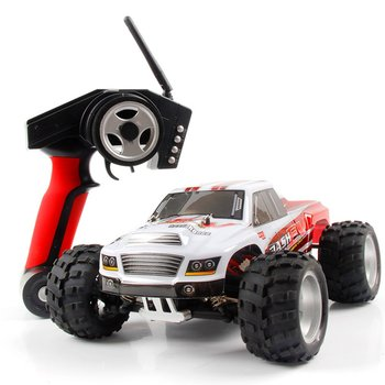 WLtoys A979-B 4WD 70km/h High Speed Monster Truck 1:18 2.4G Radio Control RC Buggy Off-Road RTR A979 Updated Version