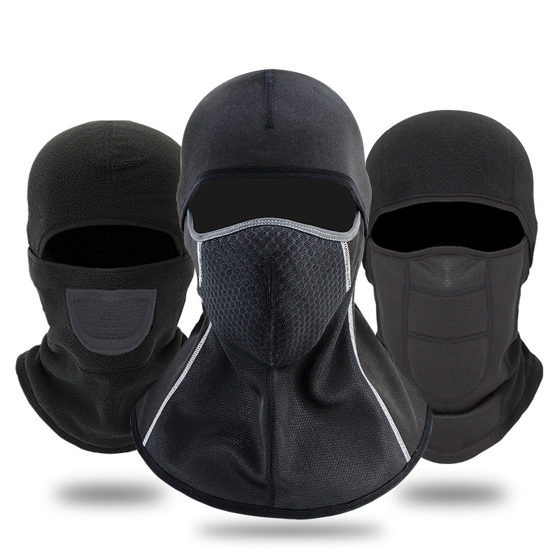 Winter Breathable Skiing Full Face Mask Rainproof Keep Warm Windproof Anti-dust Snowboard Cycling Mask Hats Cap Balaclava Scarf