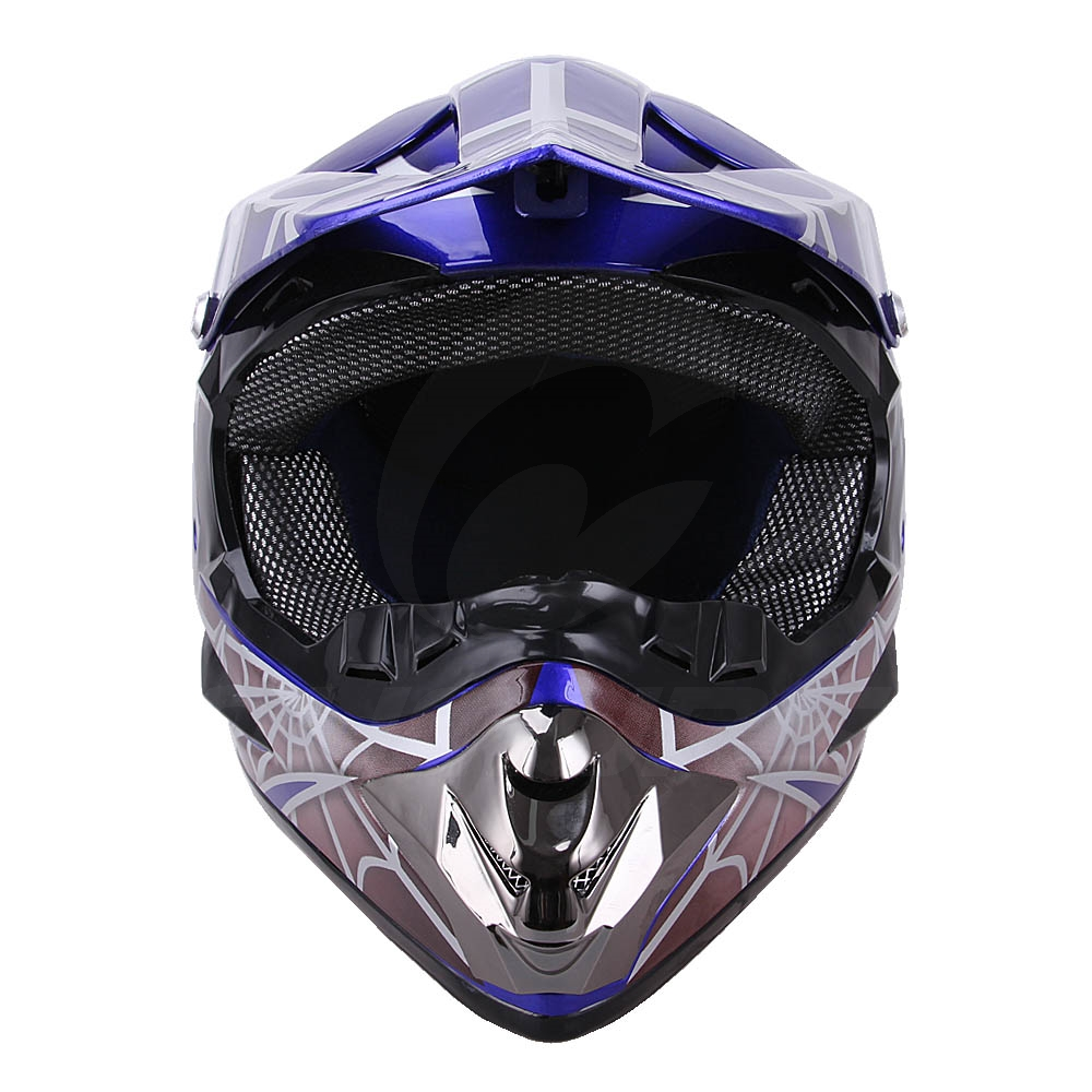 OUMURS DOT Cool Web Style Motorcycle Children Helmet 4