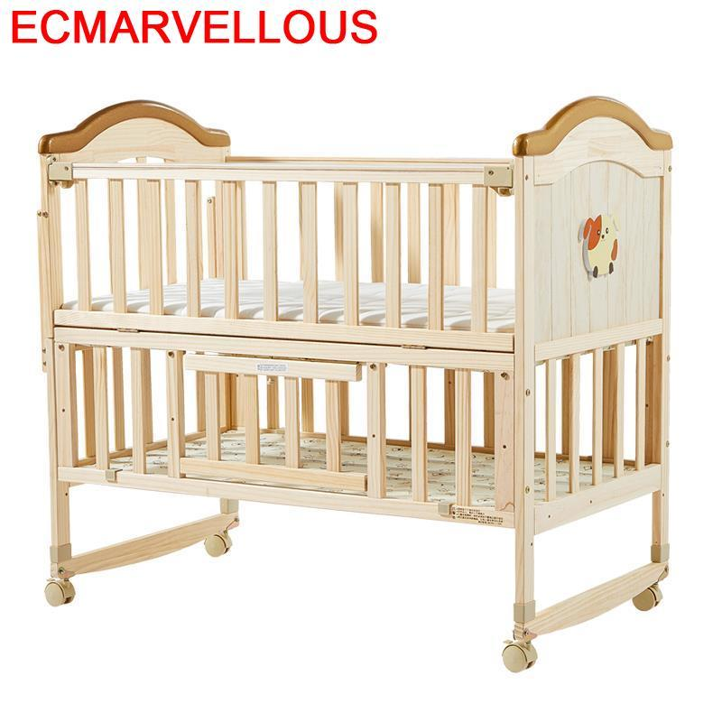 Children's Furniture Recamara Infantil Kinderbed Letto Per Bambini Cama Individual Wooden Kinderbett Lit Chambre Enfant Kid Bed