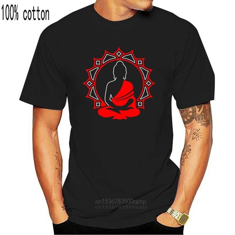 Женская футболка с логотипом Будды, цветка лотоса, женский топ для духов, Новые футболки для дзен, медитации, Забавные топы, футболка, новинка, забавная унисекс футболка|Футболки| | АлиЭкспресс