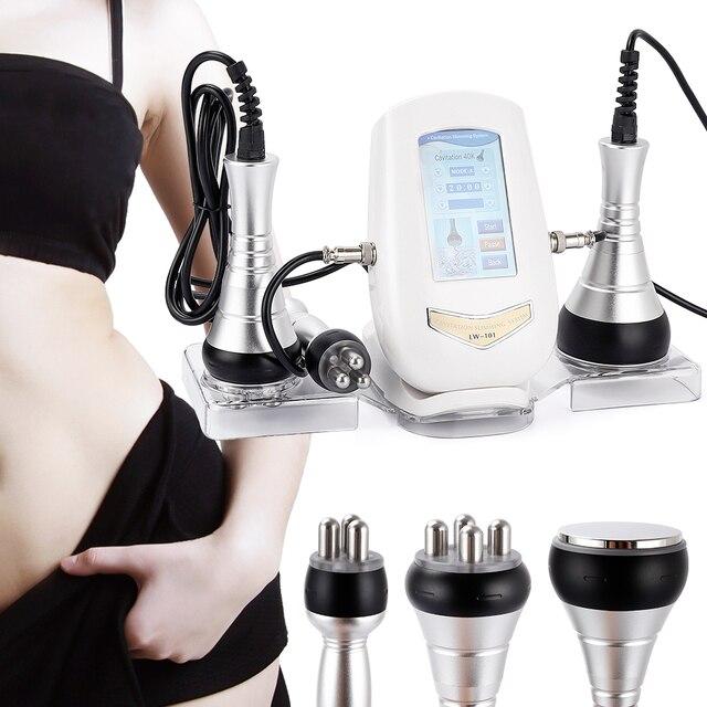 40k cavitation ultrasonic weight loss beauty machine rf radio body slimming fat remove machine skin lifting tighten massage