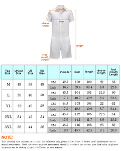 Image 5 - Summer New Design Overalls Mens Rompers 3D Funny Graphic Casual Jumpsuit Male Beach Sets One piece Outfits Plus Size Playsuit