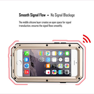 Image 4 - כבד החובה הגנת מקרה עבור סמסונג S9 S10 S20 S8 בתוספת S10e שריון מתכת אלומיניום סמסונג S7 S20 Ultra Note8 עמיד הלם כיסוי