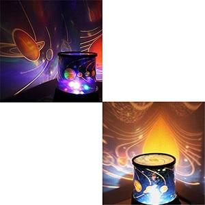 Image 5 - 2020 놀라운 낭만적 인 다채로운 코스모스 스타 마스터 LED 스타 스카이 프로젝터 야간 조명 램프 별 천장 빠른 배달