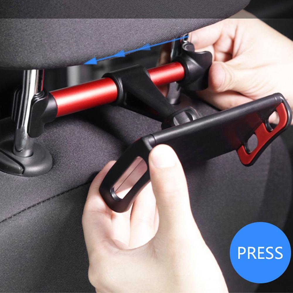 Universal Car Tablet Holder Back Seat For IPad 2 3 4 Mini Air 1 2 3 4 Pro Back Seat Holder Stand Tablet Accessories In Car
