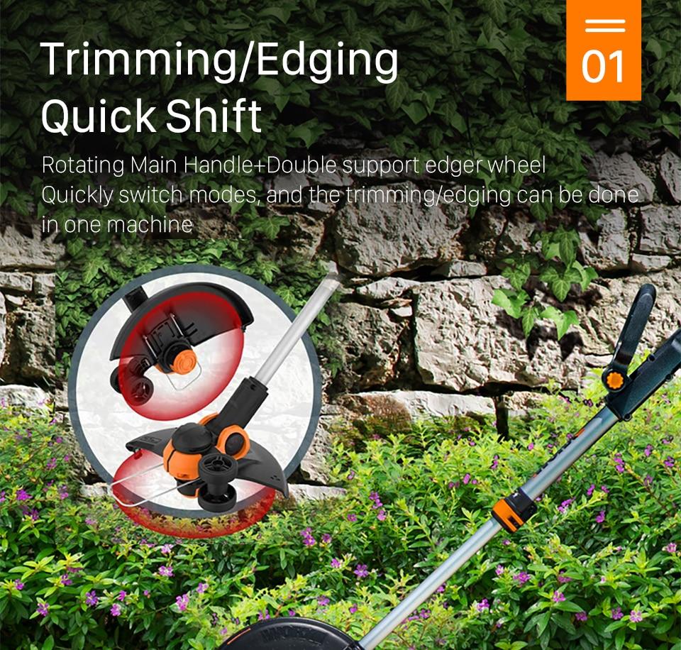 Trimming/Edging Quick Shift