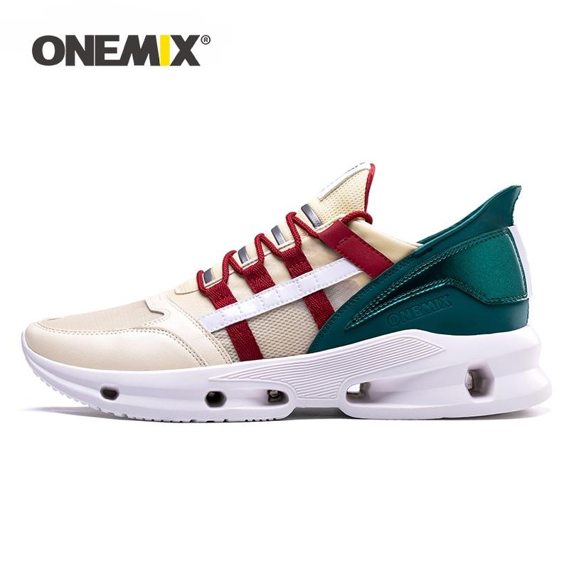 ONEMIX 2020 New Arrival Men Athletic Walking Shoes Women Running Outdoor Trekking Sport Shoes Breathable Ultralight Sneakers