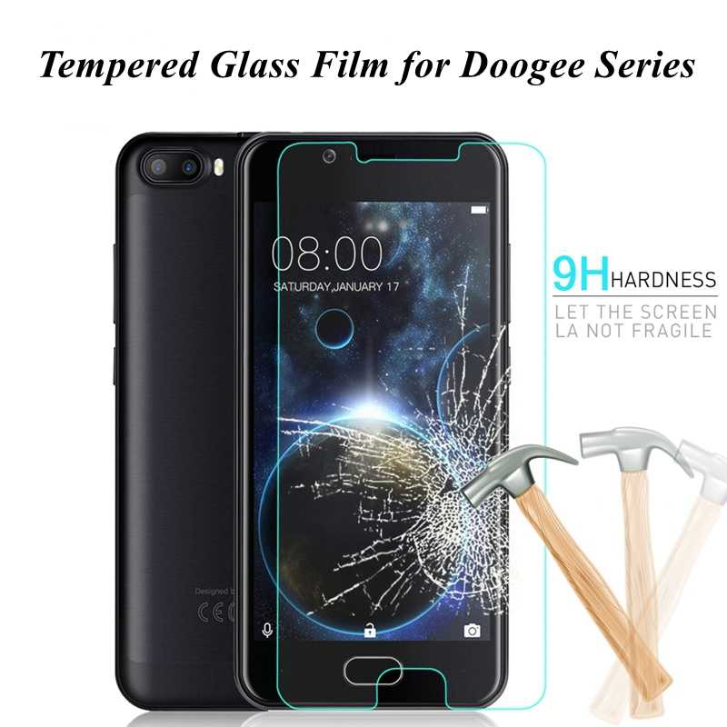 Tempered Glass for Doogee S90 Pro BL5000 BL7000 Y7 Y6 Max X20 X30 L S60 Lite Y6C Screen Protector Protective Film For Doogee N10