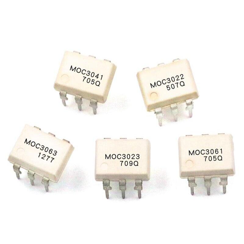 10pcs MOC3052 DIP6 Optocoupler Bidirectional Thyristor Driver