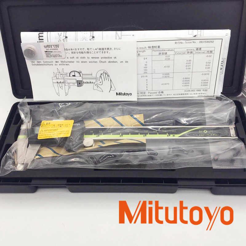 Mitutoyo Alat Ukur Digital Caliper 150,200,300 Mm Digital Vernier Caliper Mengukur Gauge Logam Caliper Stainless Steel