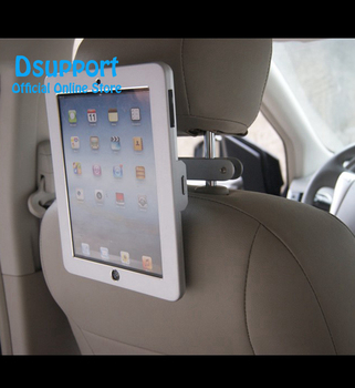 Anti-theif Car Back Seat Tablet Mount Car tablet pc stand for IPAD PRO 12.9 INCH