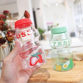 BPA Free Portable Leak Proof Travel 480ml Drink Cup Fruit Plastic Water Bottle