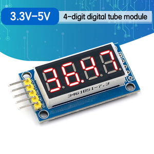 4 Bits 4bit Digital Tube LED Display Module Red Four Serial for Arduino 595 Driver(China)