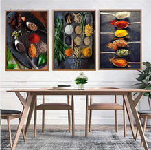 Специи еда искусство холст живопись кухня украшение в столовой