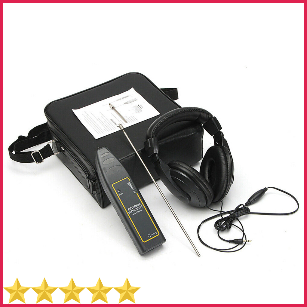 2020 Newest Original EM410 Automotive Electrical Stethoscope Car Noise Finder Diagnostic Detector Listening Device Machine