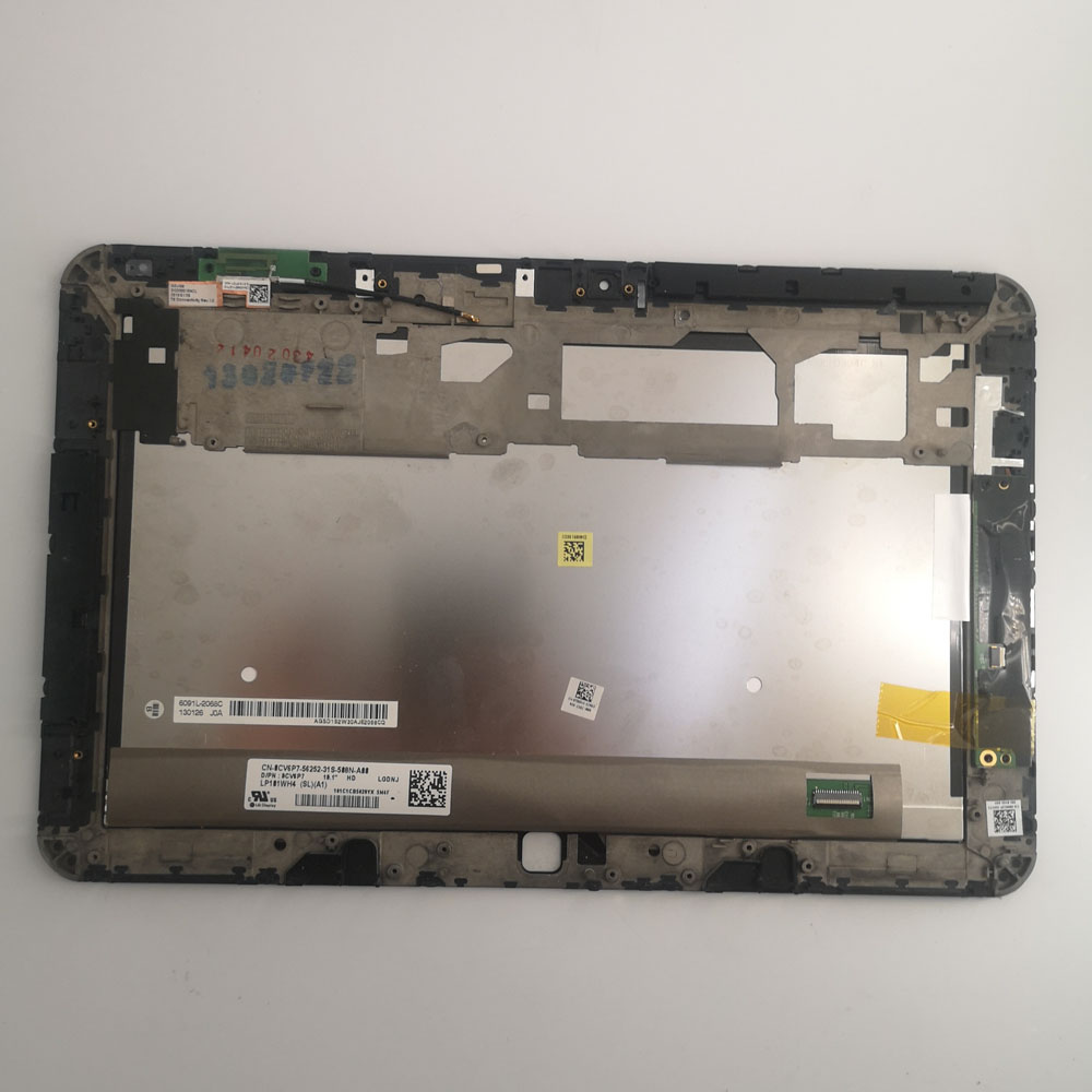 Original 10.1 Inch LP101WH4-SLA1 For Dell Xps10 Xps 10 Lcd With Touch Screen Digitizer Sensor Full Assembly With Frame