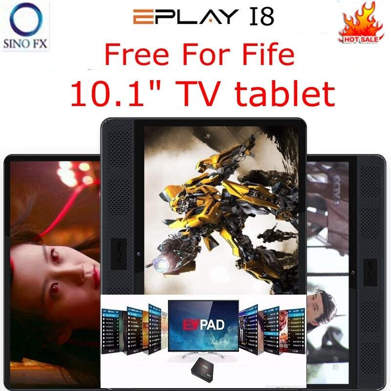 Evpad I8 Tv Tablet Permanent Free Live Channels For Korea Japan SG HK MY TW CA US NZ AU Eplay I8 Media Player Eplay I8 Tv Tablet