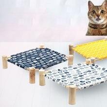 Кровать гамак для домашних животных Всесезонная котенок средней