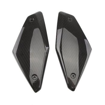Carbon Fiber For Honda CB650R CBR650R 2019-2020 Frame Side Panel Cover Shell Protector Fairing Bodykit Motorcycle Accessories