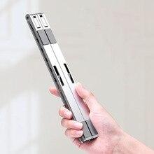 X Стиль Регулируемая Складная Алюминиевая Подставка для ноутбука настольная подставка для ноутбука 7-15 дюймов Macbook Pro Air