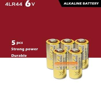 5pcs 4LR44 6V Dry Alkaline Batteries