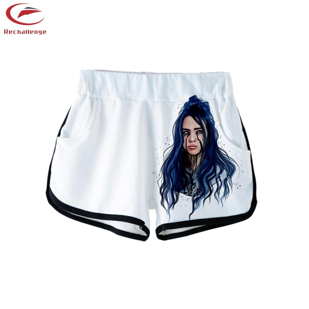 Billie Eilish 2019 Women S Fashion T Shirt And Shorts Trend Billie Eilish Women S New 3d Casual Cropped Top And Shorts Women S Sets Women S Clothing Aliexpress