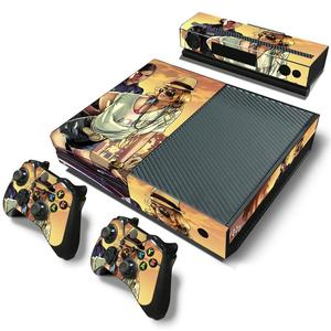 Image 3 - GTA5 Style Vinyl Skin Sticker Cover For Xbox ONE Console with 2 Controllers Protective Skin Decal For Xbox One Gamepad