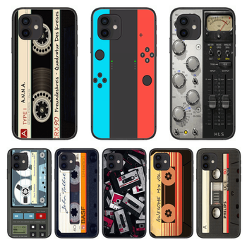 Shockproof Game Personality Style Phone Case cover For iphone 12 pro max 11 8 7 6 s XR PLUS X XS SE 2020 mini black cell shel image