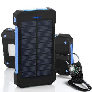 Image 4 - 8000mAh خزان طاقة يعمل بالطاقة الشمسية شاحن شمسي ضد الماء المزدوج USB الخارجية شاحن باوربانك ل شاومي هواوي آيفون 7 8 سامسونج
