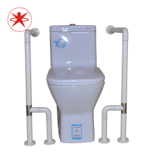 XIYANGZHUSHOU Toilet Handrail Load 200KG Safe Stainless Steel Old Man Child Disabled Auxiliary Tool Non-Slip Bathroom Handrail adjustable size fourth generation toilet armrest for the elderly and disabled closestool safety handrail non slip