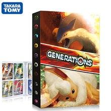TAKARA TOMY – Album de cartes Pokemon, 240 pièces, porte-cartes, collection, meilleur vente, jouets pour enfants, cadeau