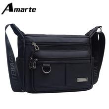 Women Bags Shoulder Messenger Men & Nylon Brand Designer Fashion Crossbody Bag Solid Male Casual Travel