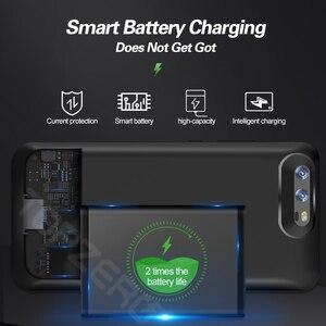 Image 4 - Pil şarj cihazı kılıfı için Huawei P20 Pro/Mate 20X/görünüm 10/P10/Mate 9 taşınabilir şarj cihazı bataryası kutusu şarj telefon kapağı güç banka çantası