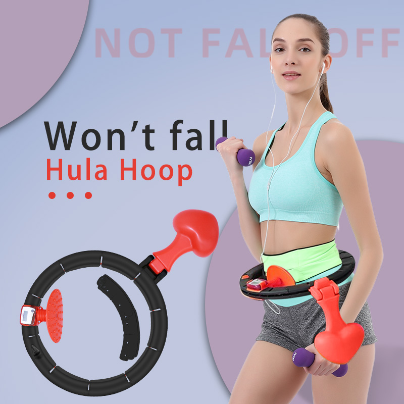 New Smart Fitness Hula Hop Hoelahoep Fitness Sport Equipment Aerial Hoop Gymnastics Equipment Exercise  Equipment Home Gym