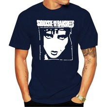 SIOUXSIE AND THE BANSHEES T SHIRT Bauhaus Cure Punk Rock Goth Tee S-3XL Top Tee for Sale Natural Cotton T-Shirts Plus Size(China)