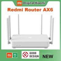 Xiaomi Redmi Router AX6 Wifi 6 6-Core 512M di Memoria Maglia Casa IoT 6 Amplificatore di Segnale 2.4G 5GHz 2 + 4 PA Auto Adattato Dual-Band OFDMA