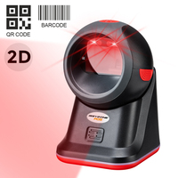 IssyzonePos 2D scanner Omnidirectional QR code desktop Barcode Scanner support alipay auto scan for supermarket and retail shop