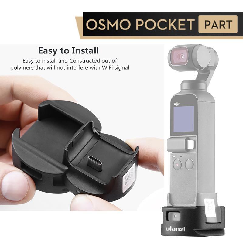 Ulanzi OP 4 Wifi Statief Adapter Voor Dji Osmo Pocket Wifi Base Accessoire Met Statief Hoofd Quick Release Mount D18-in Gimbal accessoires van Consumentenelektronica op title=