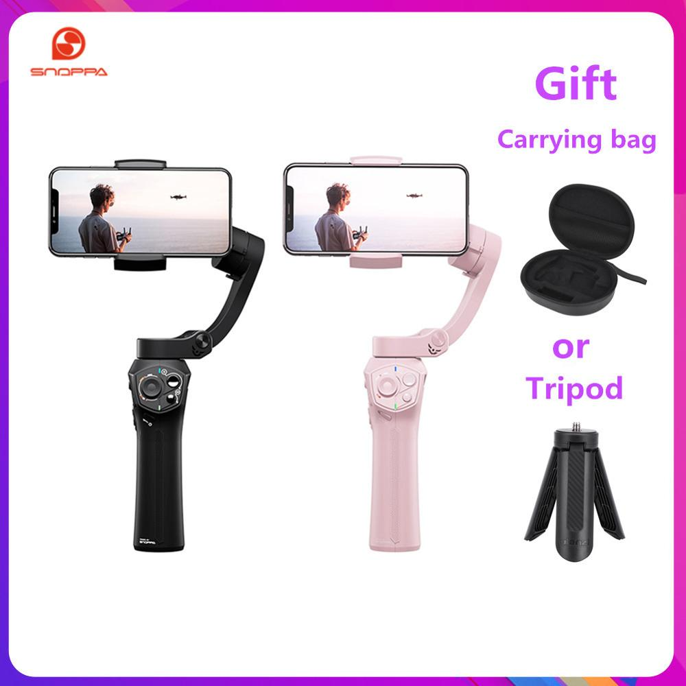 Hot Snoppa Atom 3-Axls Foldable Pocket-Sized Handheld Gimbal Stabilizer Folding Stabilizer For IPhone For GoPro With Charging