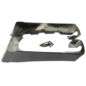 """Image 5 - Motorcycle 4"""" Double Cut Hard Saddlebag Extension For Harley Touring Road King Road Ultra Street Glide Electra Glide 1994 2013"""