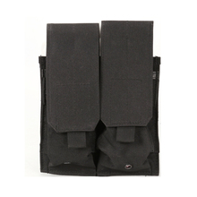 Tactical Molle M4 Magazine Pouch Dual Double Pistol Mag Close Holster Nylon Airsoft Combat Military 9MM New