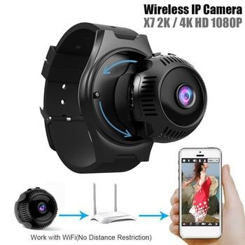 1080P HD 4K Wireless Mini WiFi Camera Home Security Camera Outdoor Sports DV Home Infared Camera DVR Night Vision Monitor at l208 new 1080p wifi waterproof sports camera outdoor riding dv sports camera