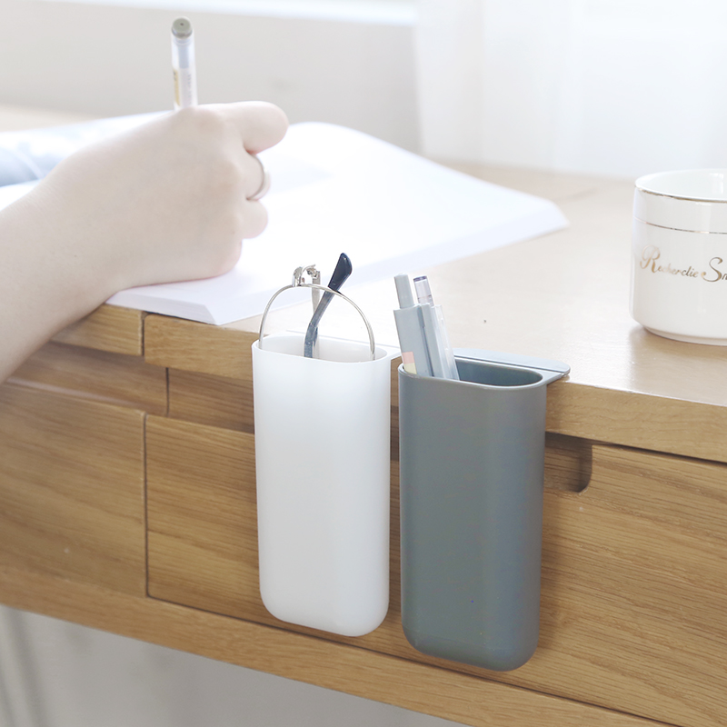 Korean Desktop Pen Holders Can Be Hung For Office Storage Pendant Creative And Fashionable Office Supplies Desk Accessories