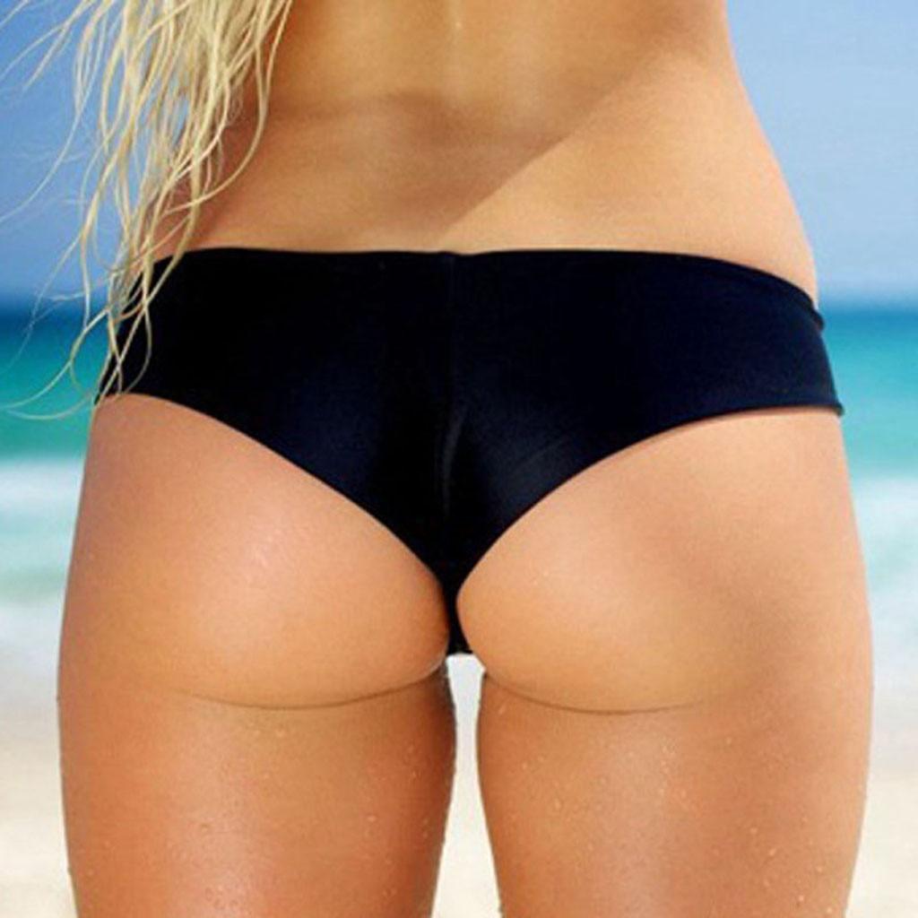 Бразильское бикини, стринги, женские купальники, бикини, шорты для плавания с Т-образной спиной, пляжные брюки, хипстерские трусы, нижнее бел...