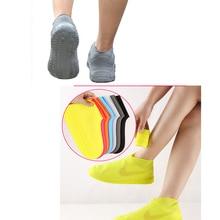 Водонепроницаемая Резиновая обувь 2 шт./компл ., чехол унисекс, защита для обуви, резиновые сапоги для дождливых дней, многоразовые, для взрос...