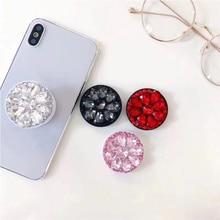 Glitter Diamond Phone Holder For iPhone/Samsung/Huawei Universal Expanding Finge