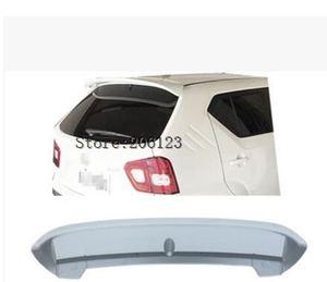 Горячая Распродажа ABS Праймер Неокрашенный задний спойлер на крышу автомобиля для Suzuki Ignis 2016 2017 2018