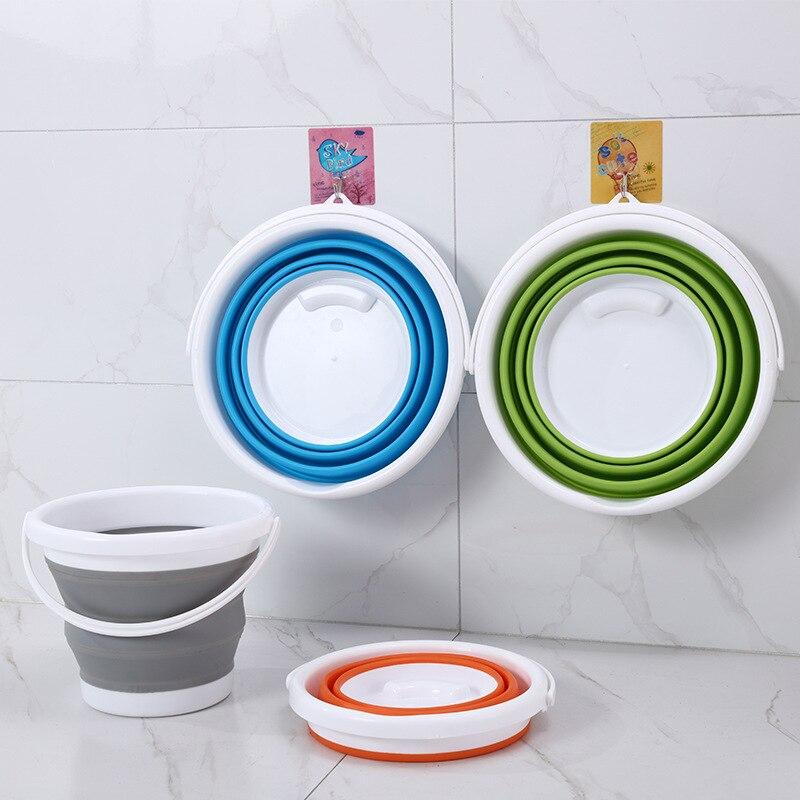 Складные ведра для очистки воды, Складные ведра для хранения, Швабра, умывальник, пластиковые складные рыбацкие уличные ванны для кемпинга|Ведерки|   | АлиЭкспресс